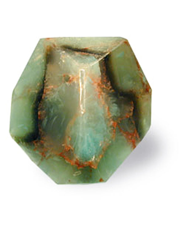 Soap Rocks Jade Soap 6 oz hand crafted soap made to look like a green precious stone
