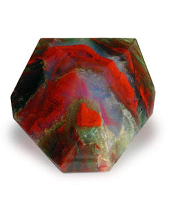 Soap Rocks Jasper Soap 6 oz hand crafted soap made to look like a precious stone