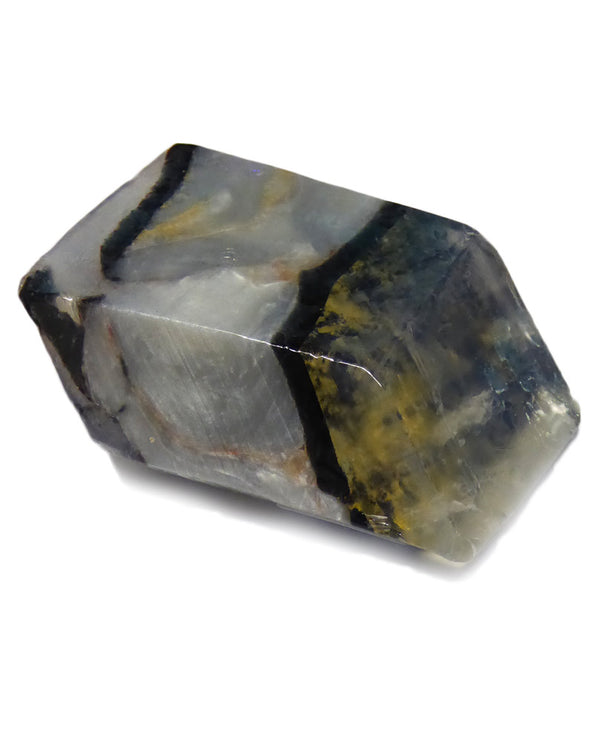 Soap Rocks Platinum Gold Soap 6 oz hand crafted soap that looks like a black gemstone