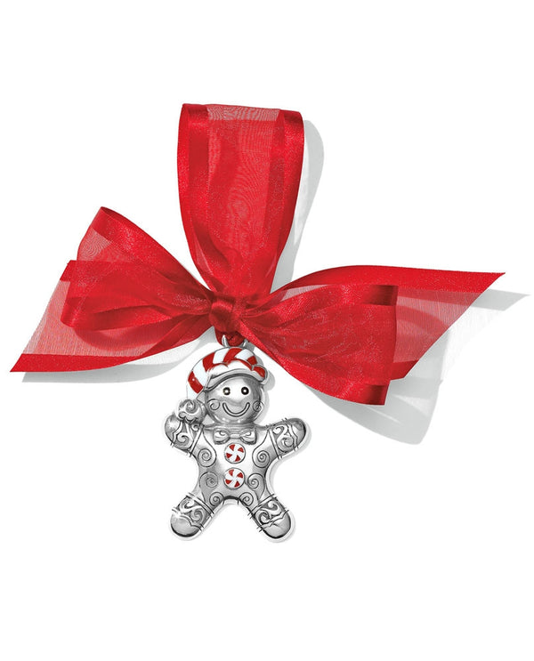Brighton G70740 Gingerbread Candy Man Ornament