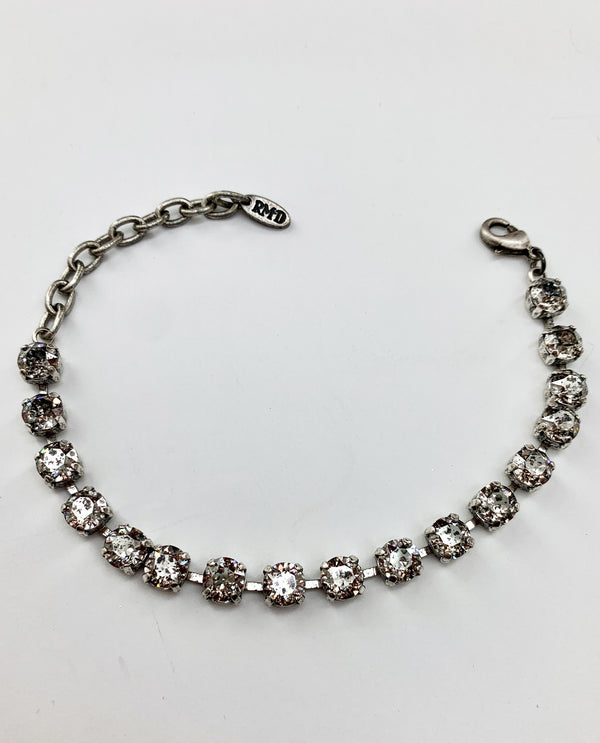 Jane Bracelet By Rachel Marie Designs Silver Patina