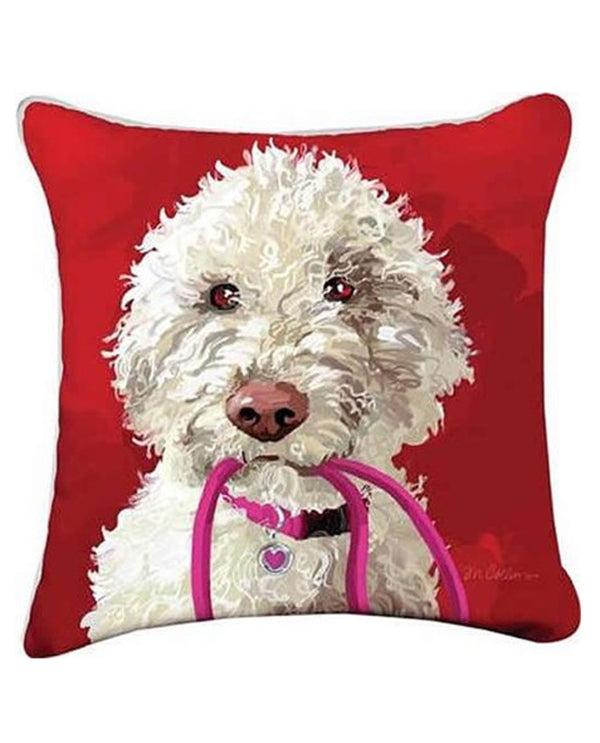 Manual Woodworker & Weavers ZSLADOD Abby Doodle Pillow