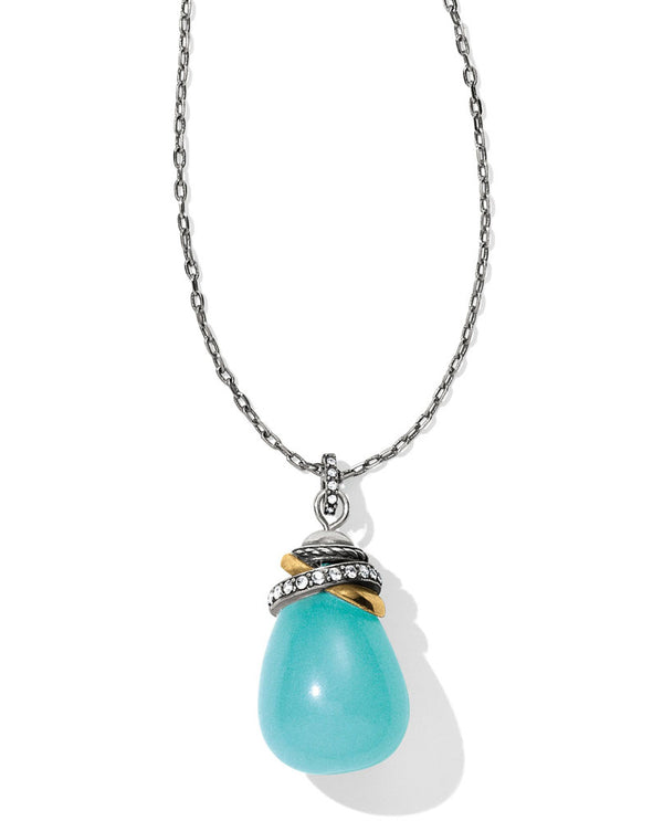 Brighton JL796A Neptune's Rings Quartz Stone Necklace