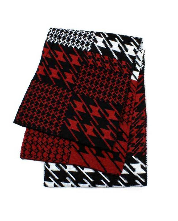 FS40170 Houndstooth Scarf