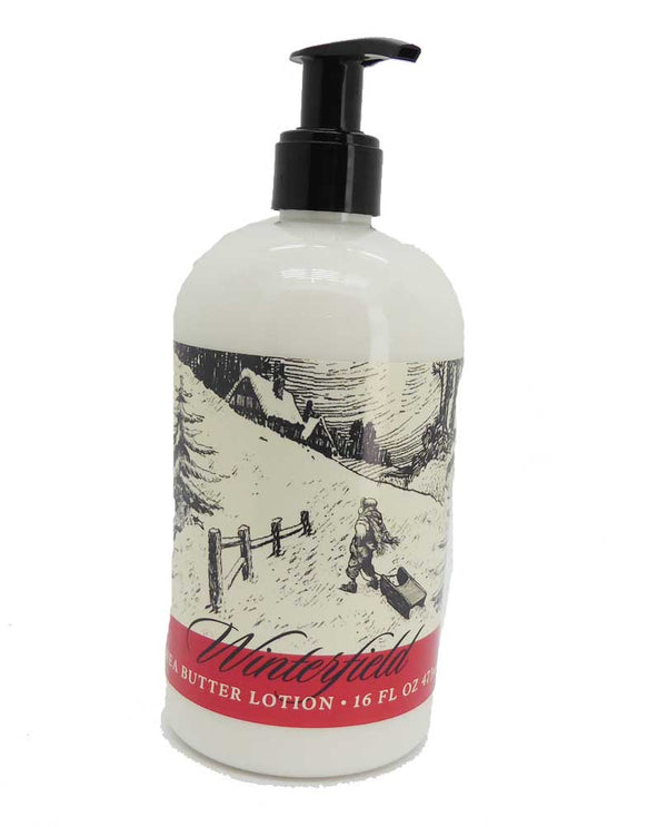 16 OZ Holiday Winterfield Lotion Made with Shea Butter
