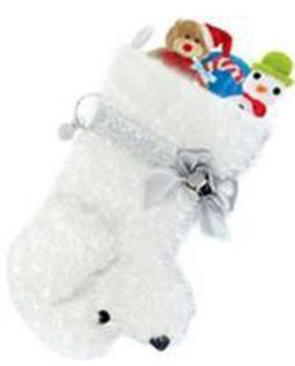 Hearth Hounds HH56 Snowball White Dog Stocking