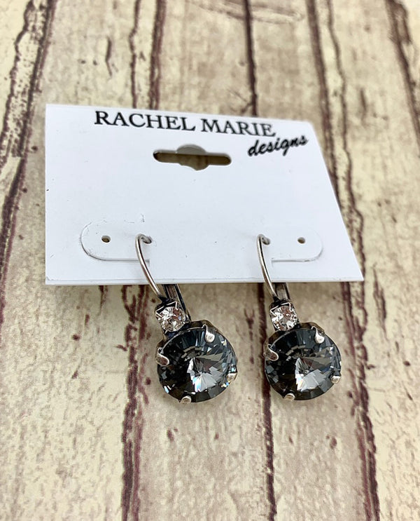 Rachel Marie Designs Brooke 12Mm Drp Earring Silver Night