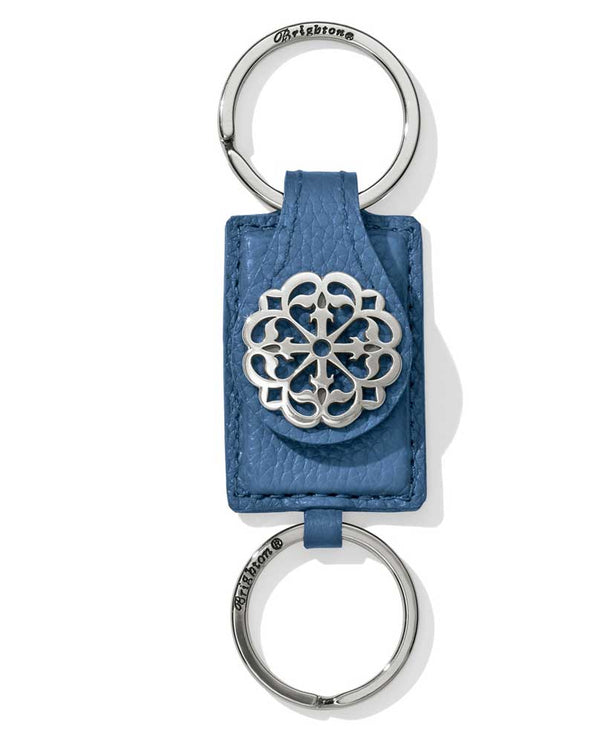 Blue Brighton E17956 Ferrara Valet Key Fob 2 piece key chain for you and the valet