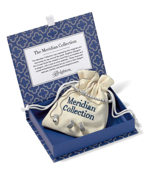 Brighton In All The World - Meridian Petite Collection JD5351 sparkling Swarovski pieces in blue box