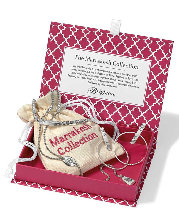 Silver Brighton Marrakesh, Refreshed - Marrakesh Collection JD5340 box with your favorite items