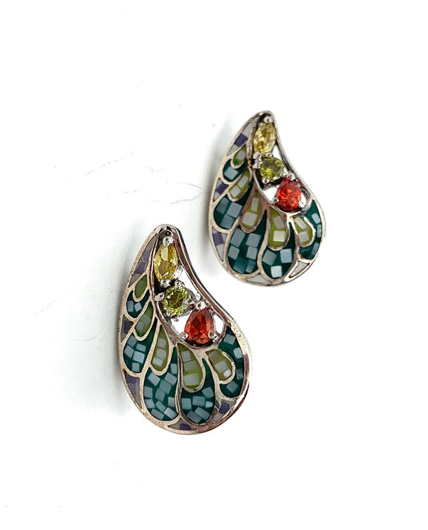 Mediterranean Artists NAZE3119 Sterling Silver Earrings