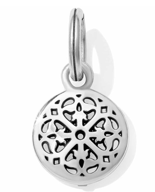 Silver Brighton JC4720 Ferrara Charm is a round silver pierced charm for your collection
