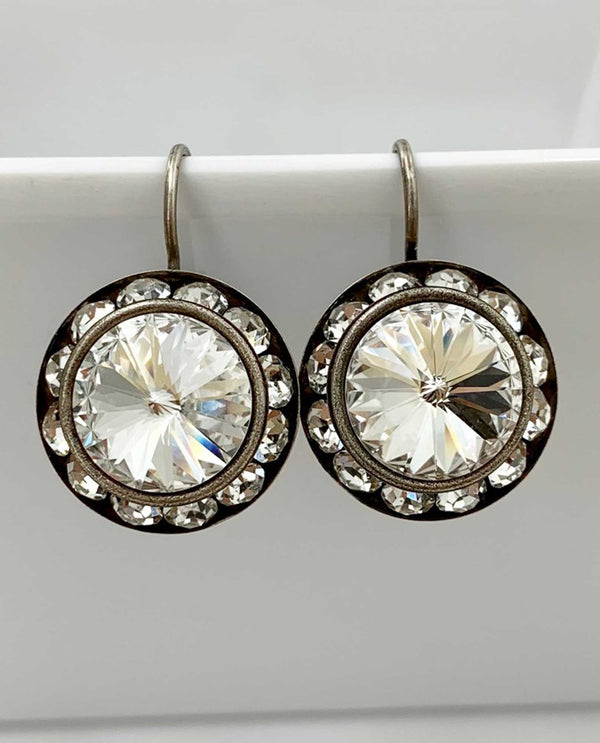 Lexi Earring by Rachel Marie Designs clear