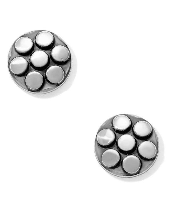 JA4880 Brighton Pebble Mix Dot Post Earrings simple silver stud earrings for women