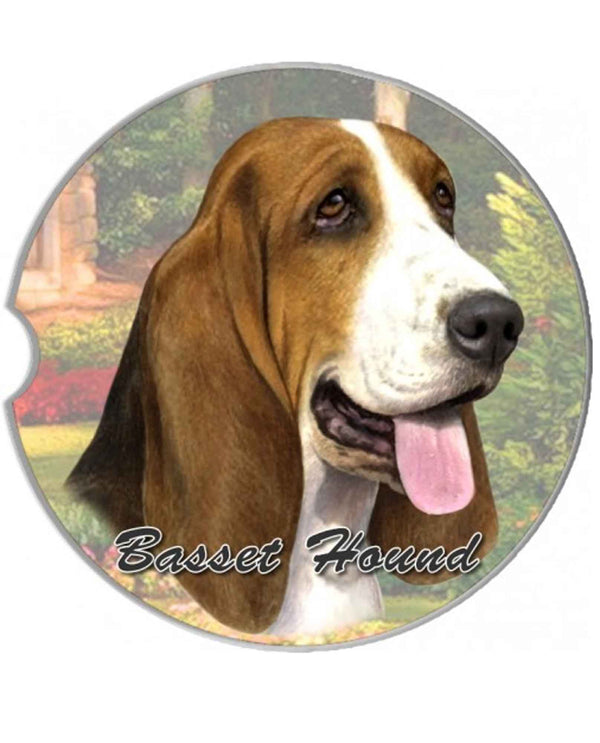 231-2 Basset Hound Car Coaster