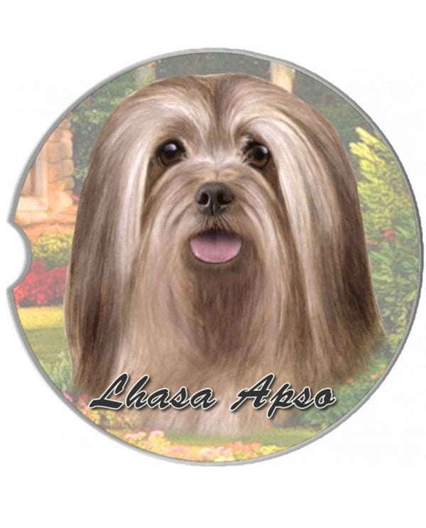 231-23 Lhasa Apso Car Coaster