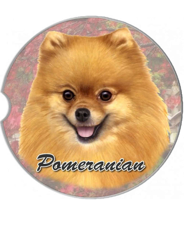231-27 Pomeranian Car Coaster