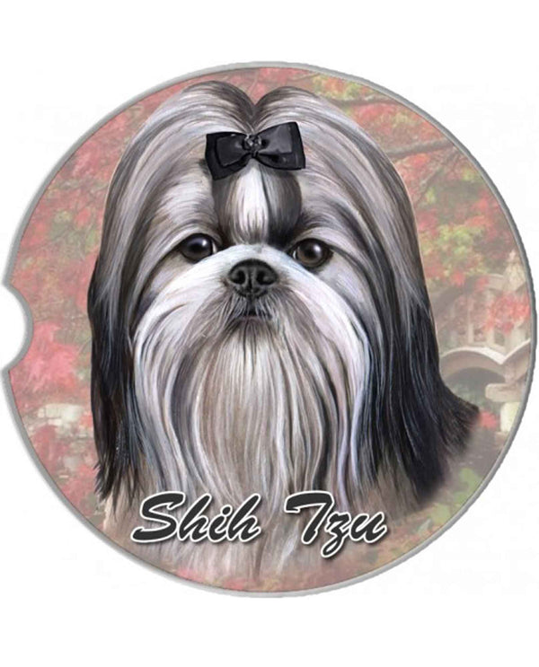 TNWT 231-39 Shih Tzu Car Coaster