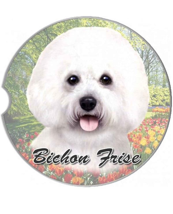 231-4 Bichon Frise Car Coaster
