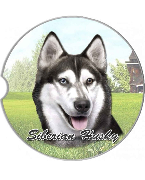 231-40 Siberian Husky Car Coaster
