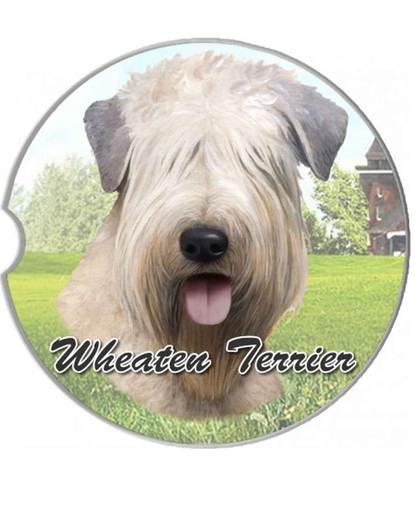 231-41 Wheaten Terrier Car Coaster