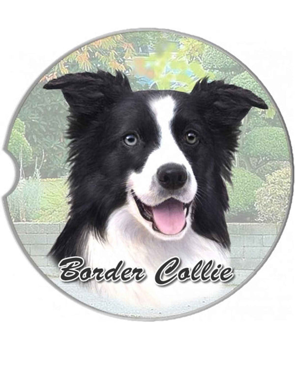 231-5 Border Collie Car Coaster