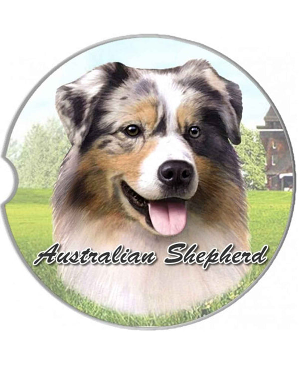 231-53 Australian Shepherd Car Coaster
