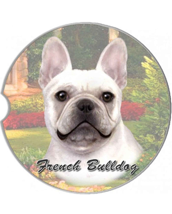 231-64 French Bulldog Car Coaster