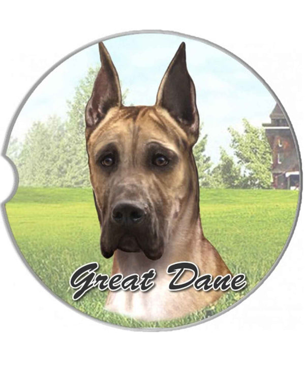 231-66 Great Dane Car Coaster