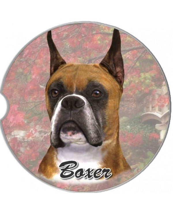 231-7 Boxer Cropped Car Coaster