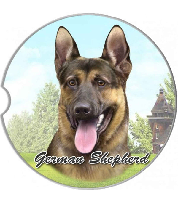 231-75 German Shepherd Car Coaster