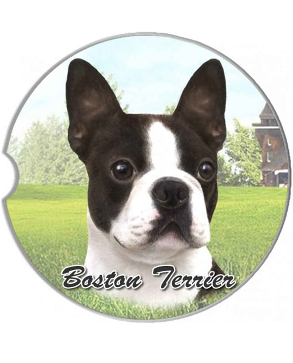 231-76 Boston Terrier Car Coaster