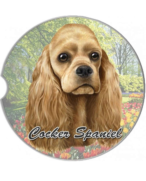 231-78 Cocker Spaniel Car Coaster