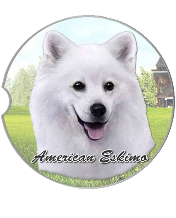 231-85 American Eskimo Car Coaster