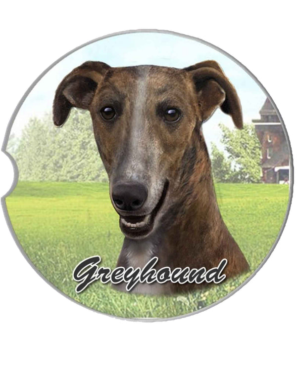 231-94 Greyhound Car Coaster
