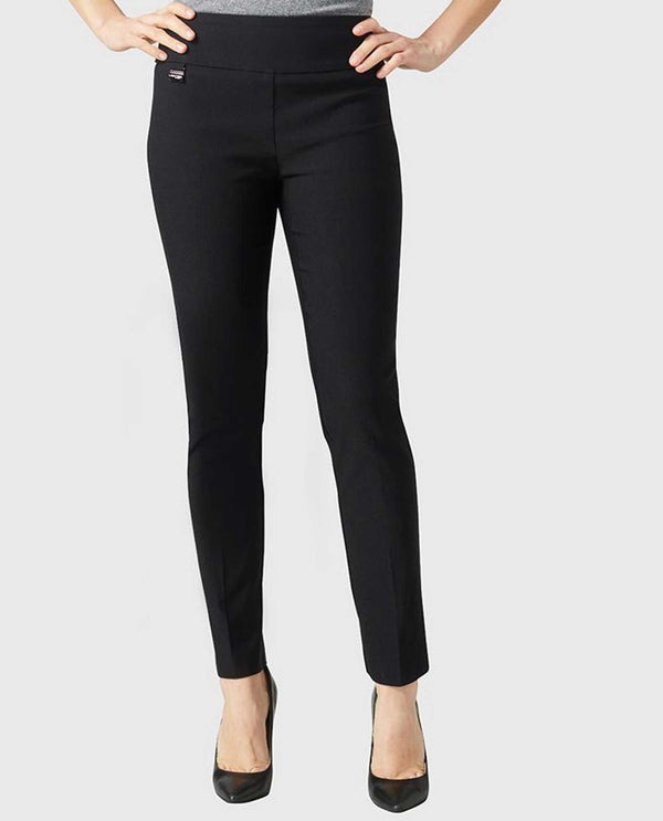 "53101 Lisette 28"" Ankle Pant slimming women's black pants that are flattering and comfortable"