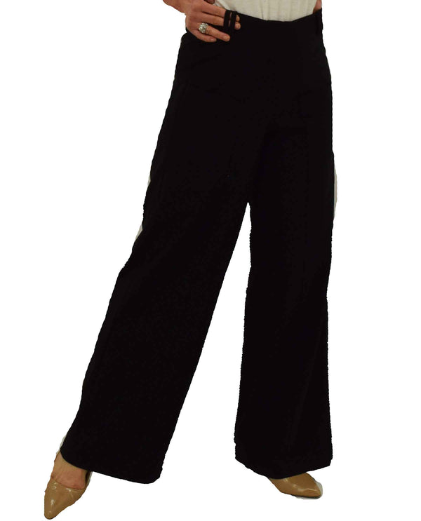 Habitat 16962 Black Angled Seam Pocket Pant