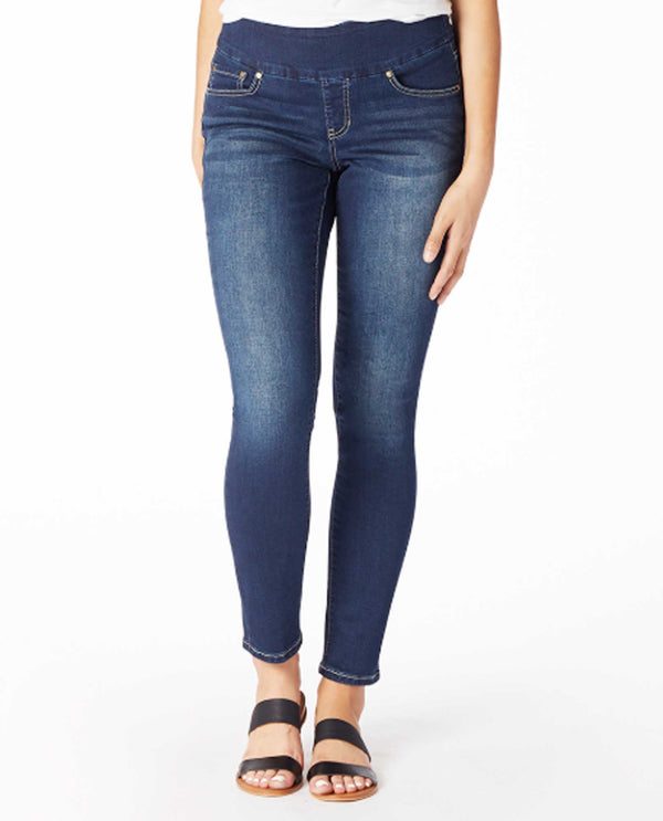 Jag J2112459AVBL Nora Skinny Jean - pull on style with functional front and back pockets