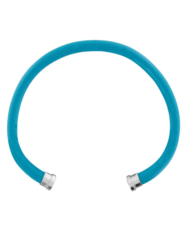 Brighton JF655B Cerulean Color Clique Leather Cord thick leather bracelet