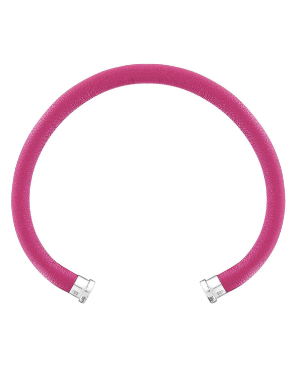 Brighton JF655A Pnch Color Clique Leather Cord hot pink leather bracelet