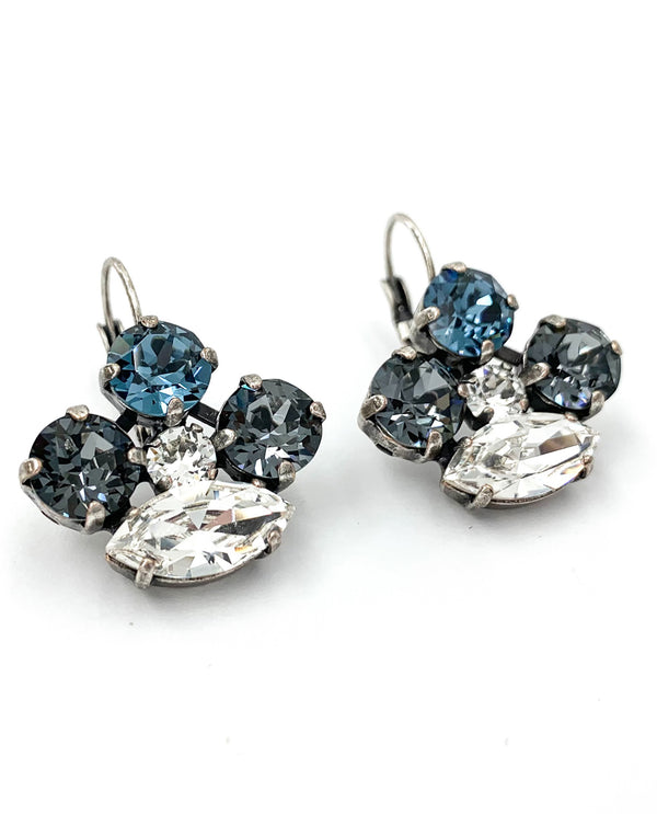 Rachel Marie Designs Navette Crown Earring