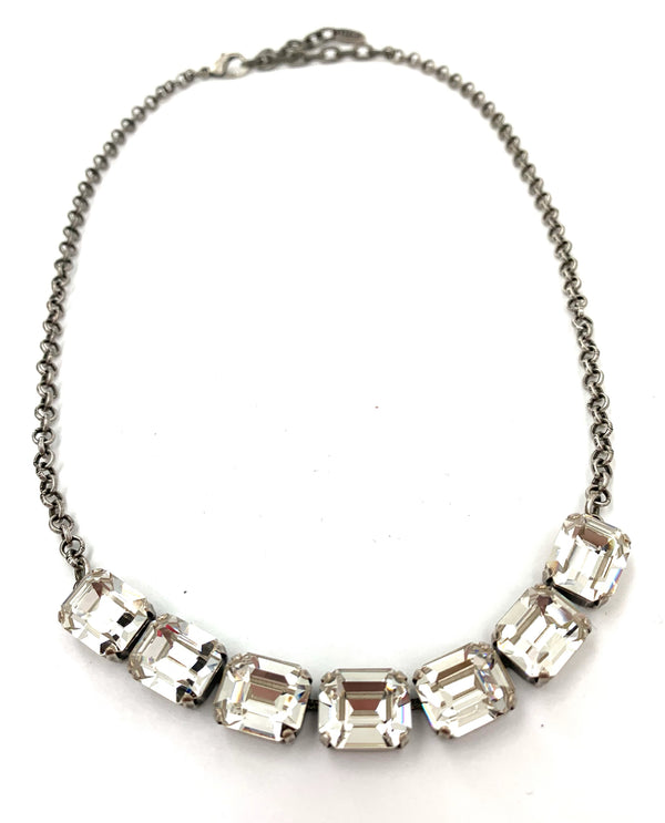 Rachel Marie Designs Orla Necklace Clear