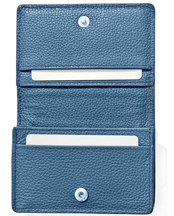 Brighton E3147M Enchanted Garden Card Case leather card case that holds three cards