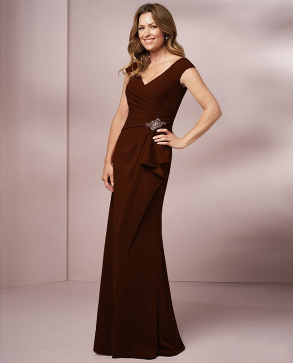 Jade Jasmine J205005 Portrait V Neck Dress
