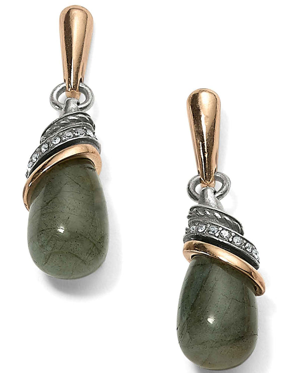 Brighton JA497H Neptune's Rings Labradorite Teardrop Earrings