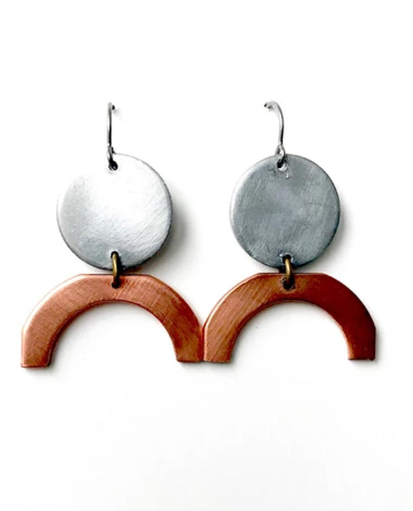 Mend On The Move All Women Earring handmade earrings made of salvage car parts