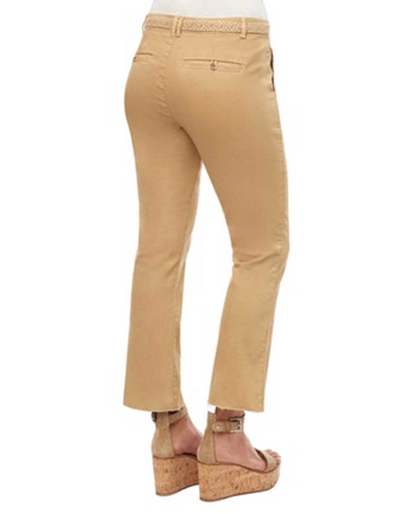 Straw Democracy B134E8X2 Raw Hem with Tie Waist Pant