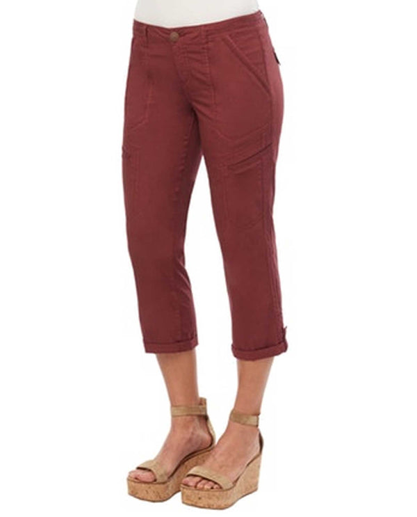Fired Brick Democracy B134E8X2 Convertible Utility Crop Pants