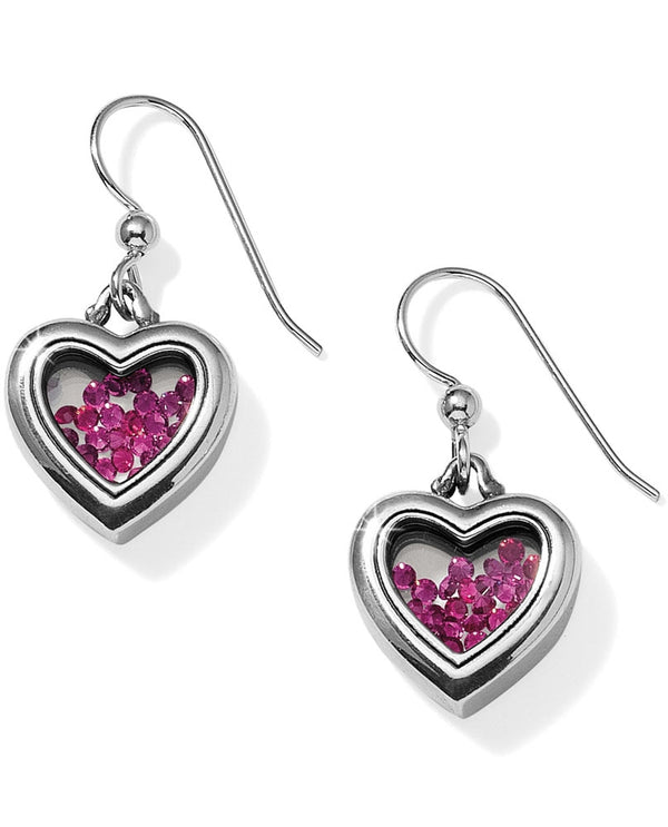 Brighton JA3291 Pure Love French Wire Earrings