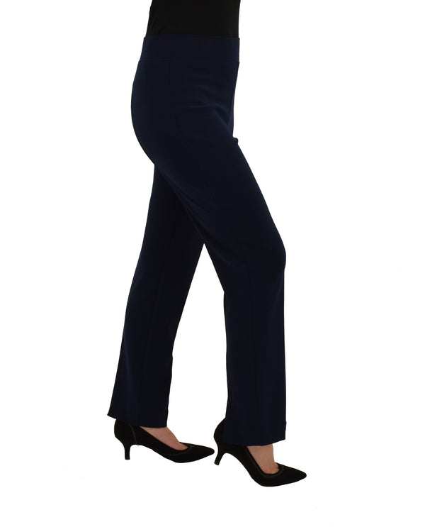 Michael Tyler 19R4025 Pants with Back Slit Navy